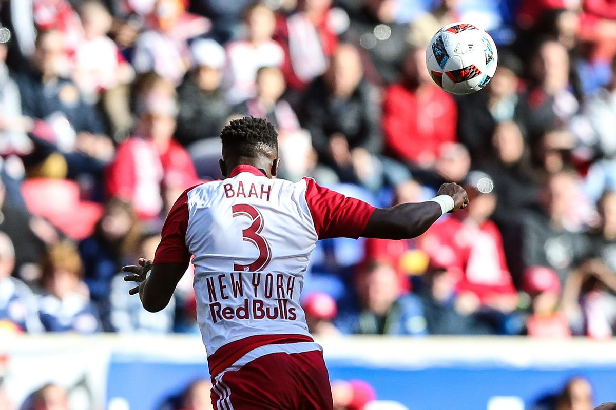 Will Gideon Baah be in action for NYRBII again this weekend? Maybe.