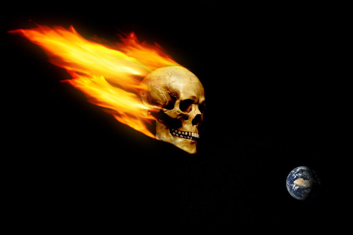 Skull-Shaped 'Halloween Asteroid' Will Zoom Past Earth Tonight ...