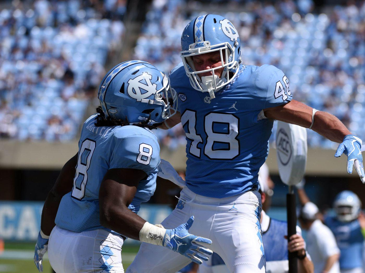 Austin Proehl North Carolina Tar Heels Jordan Football Jersey - Light Blue