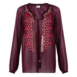 Embroidered Blouse in Red, $44.99 (Available on Net-A-Porter)