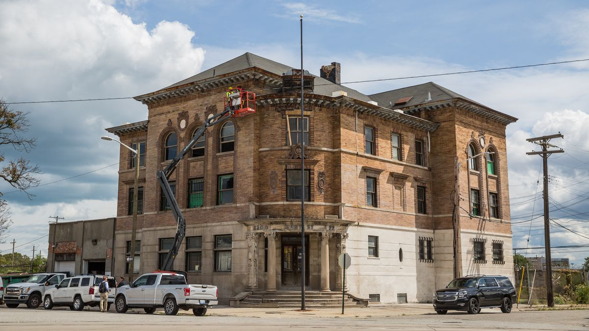Detroit S Third Precinct To Reopen As Hunt Street Station