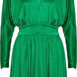 Green jersey dress, $162.50 (orig. $325)