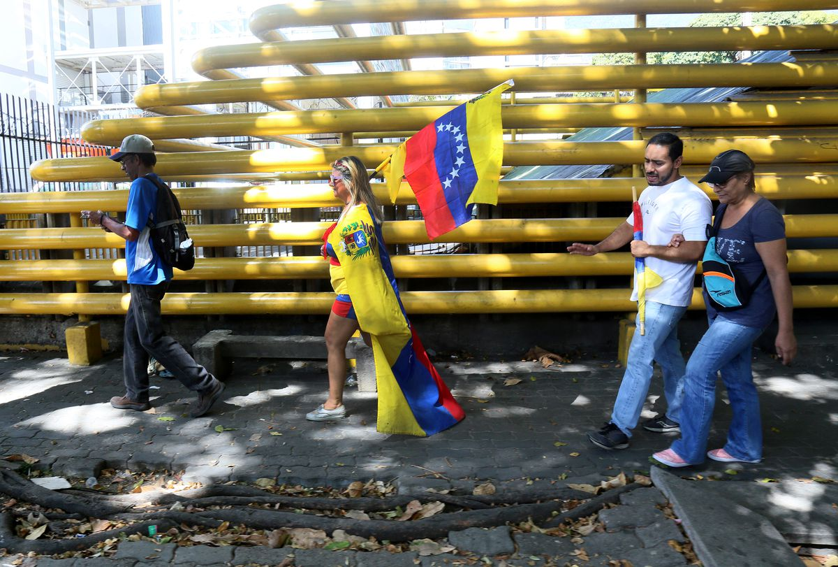 Opposition Protest In Venezuela