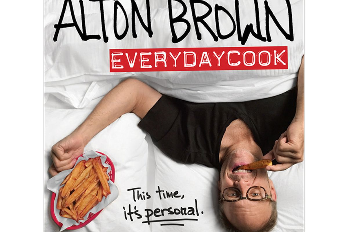 The cover for Alton Brown's 'EveryDayCook.'