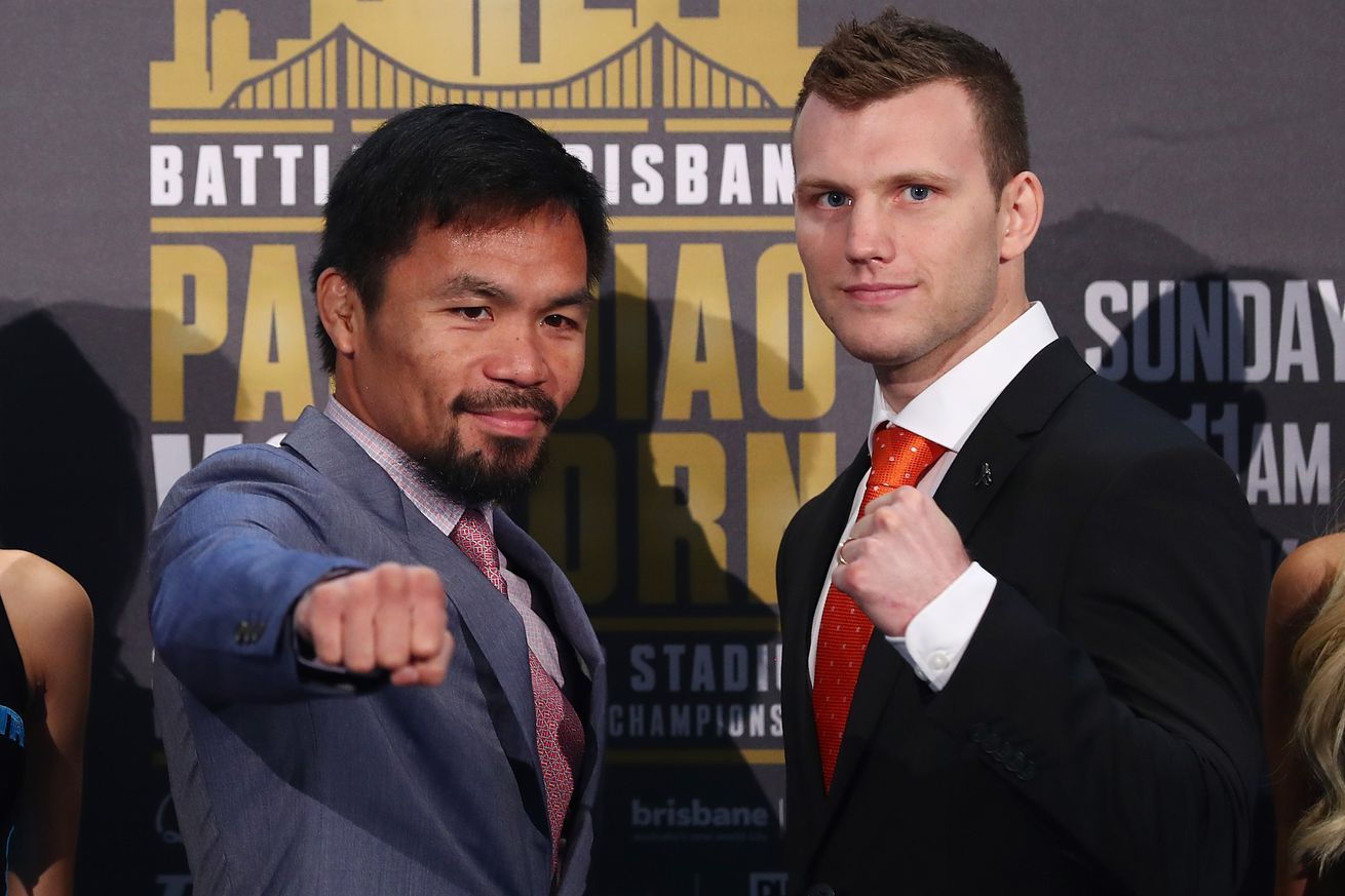 community news, Pacquiao vs Horn start time, TV schedule, who is fighting tonight at 'Battle of Brisbane'