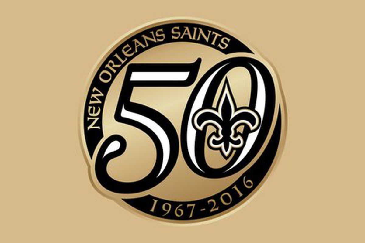Saints unveil addition to their uniform for 50th anniversary season the new orleans saints recently revealed the logo to commemorate their 50th anniversary of existence in the national football league and yesterday the biocorpaavc Gallery