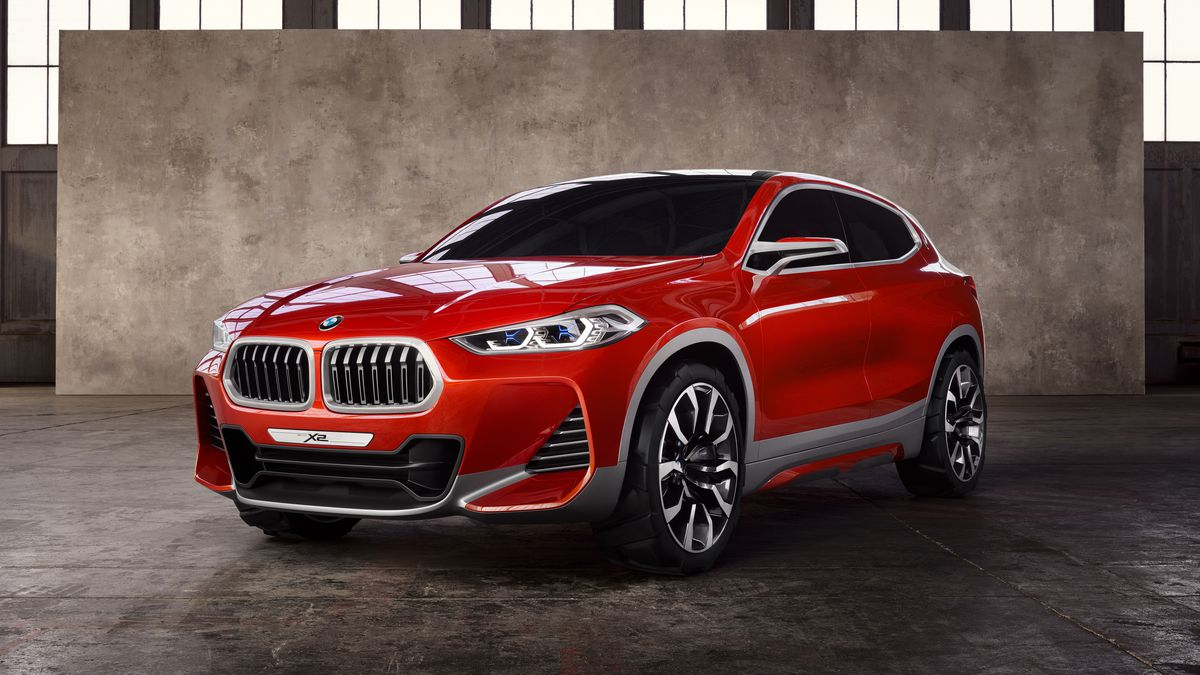 Bmw S X2 Suv Concept Is A Sportier Alternative To The X1