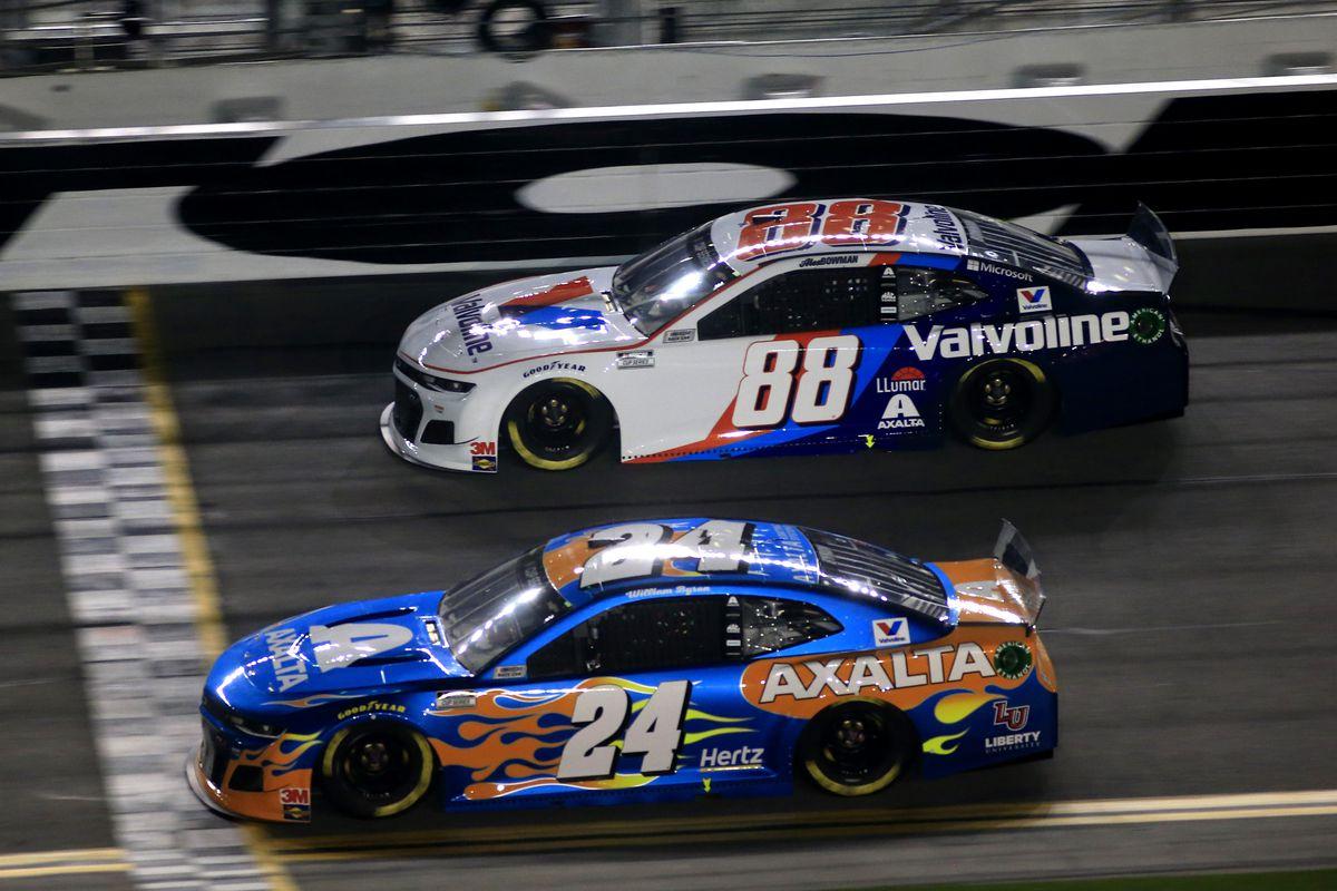 AUTO: FEB 13 NASCAR Cup Series - Bluegreen Vacations Duel 2 At DAYTONA