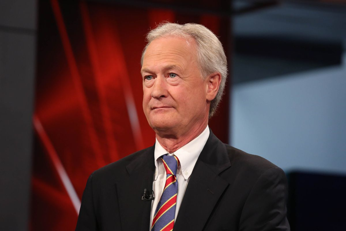 NEW YORK, NY - SEPTEMBER 30:  Lincoln Chafee visits FOX Business Network at FOX Studios on September 30, 2015 in New York City.  (Photo by Rob Kim/Getty Images)