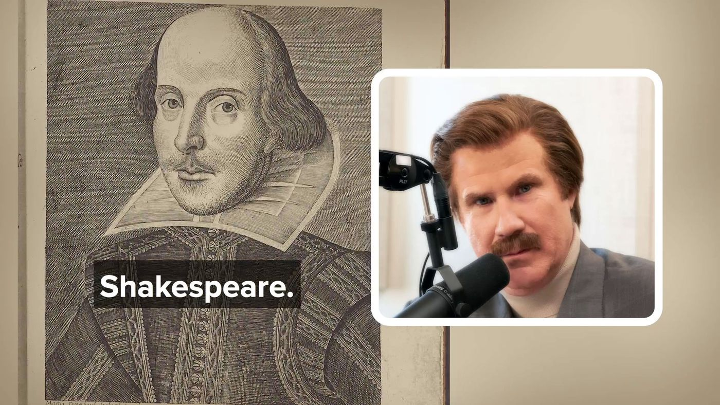 Ron Knows His British History | The Ron Burgundy Podcast