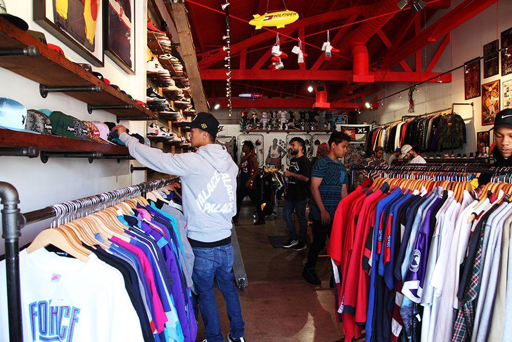 La S Biggest Streetwear And Sneaker Resellers Racked La