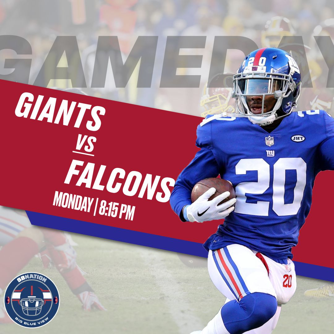 Monday Night Football Giants Vs Falcons Game Time Tv Odds