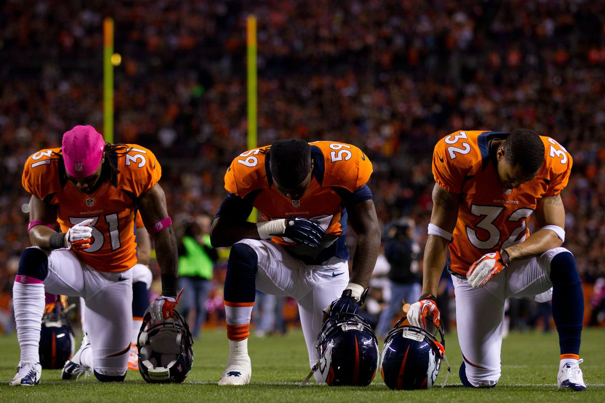 Praying for a clean Injury Report