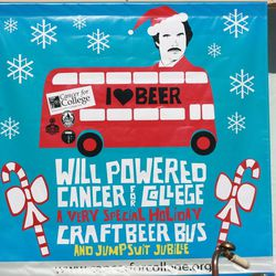 Will Powered Cancer for College Craft Beer Bus and Jumpsuit Jubilee