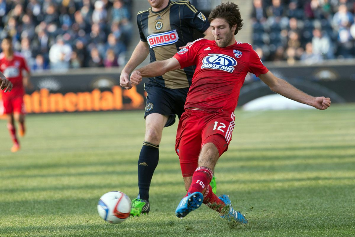 Hollingshead is making an impact every time he hits the field for FC Dallas.