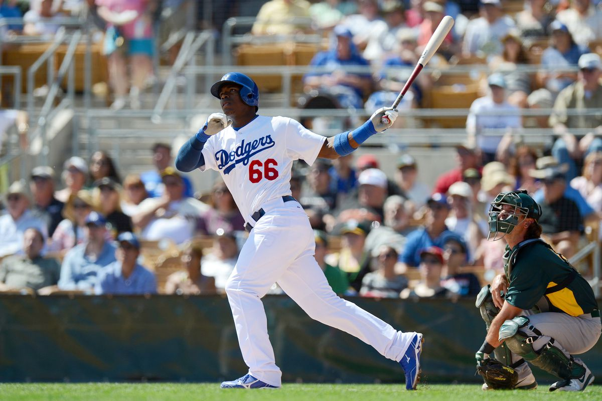 Things are looking up for Yasiel Puig