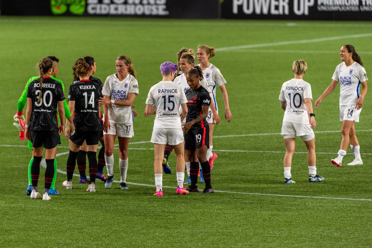 SOCCER: APR 21 NWSL Challenge Cup - OL Reign at Portland Thorns FC