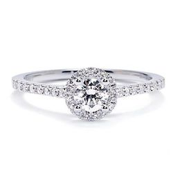 """<b>Sylvie Bridal Collection</b> 0.30 Center Diamond Engagement ring, <a href=""""http://www.greenwichjewelers.com/shop/category/engagement-rings/products/sylvie-bridal-collection-030-center-diamond-engagement-ring"""">$2,115</a> at Greenwich Jewelers"""