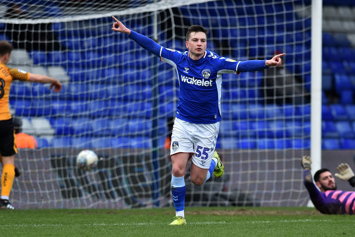 Oldham Athletic v Newport County - Sky Bet League 2