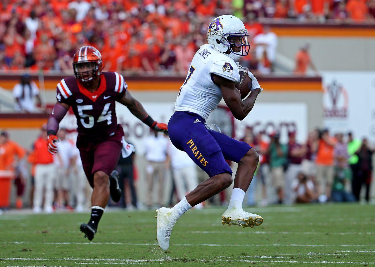 NCAA Football: East Carolina at Virginia Tech