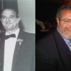Drew Nieporent and Paul Bocuse, 25 years ago and today