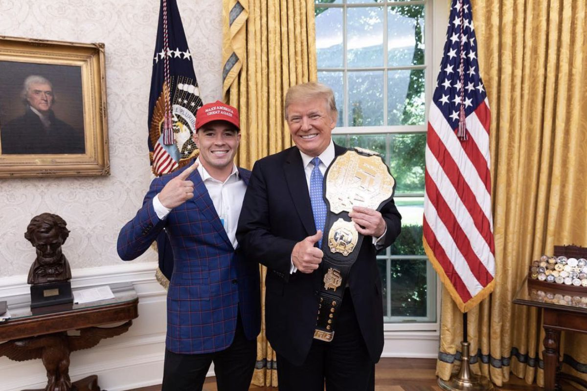 Colby Covington wants to speak for President Donald Trump at Republican Convention in 2020