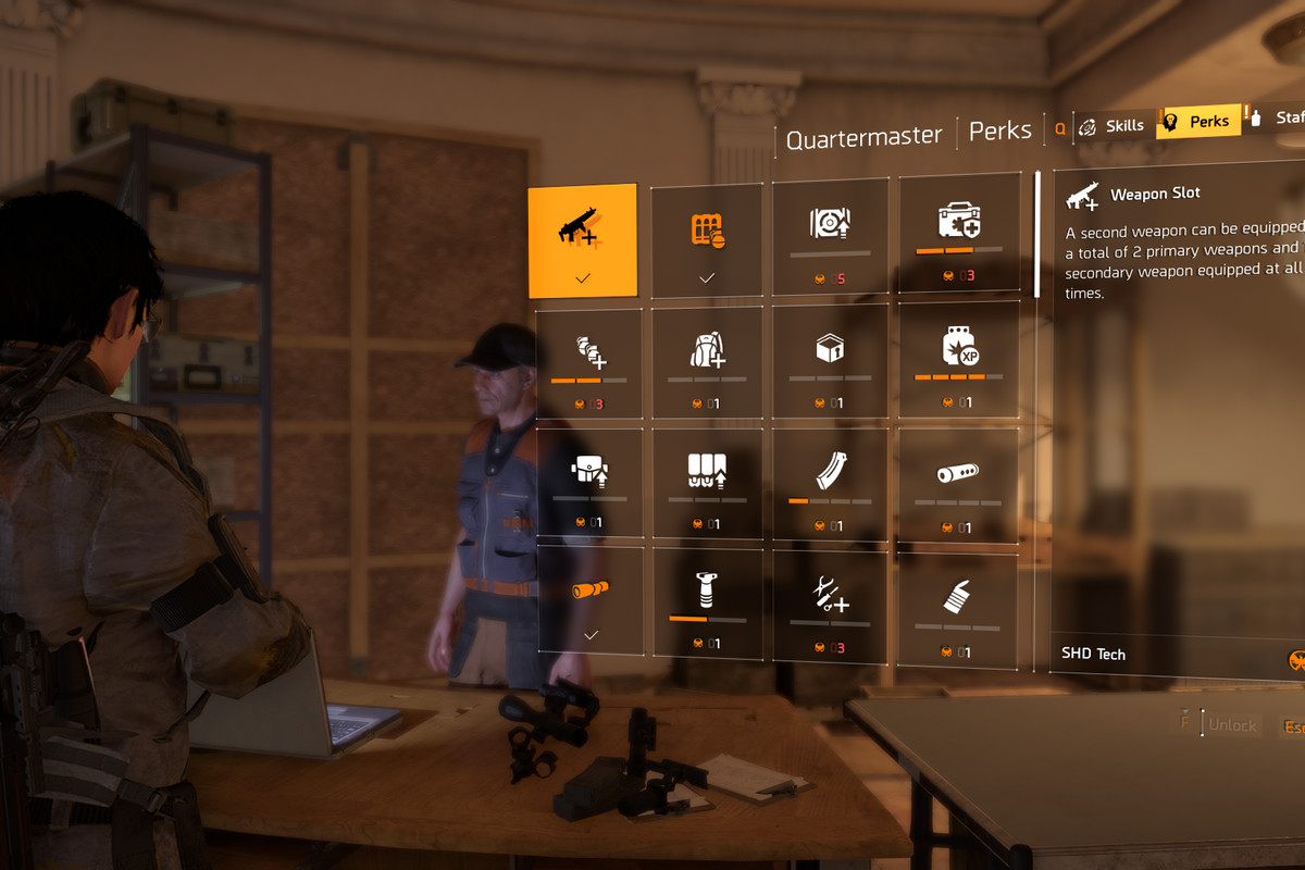 The Division 2 perks guide - Polygon