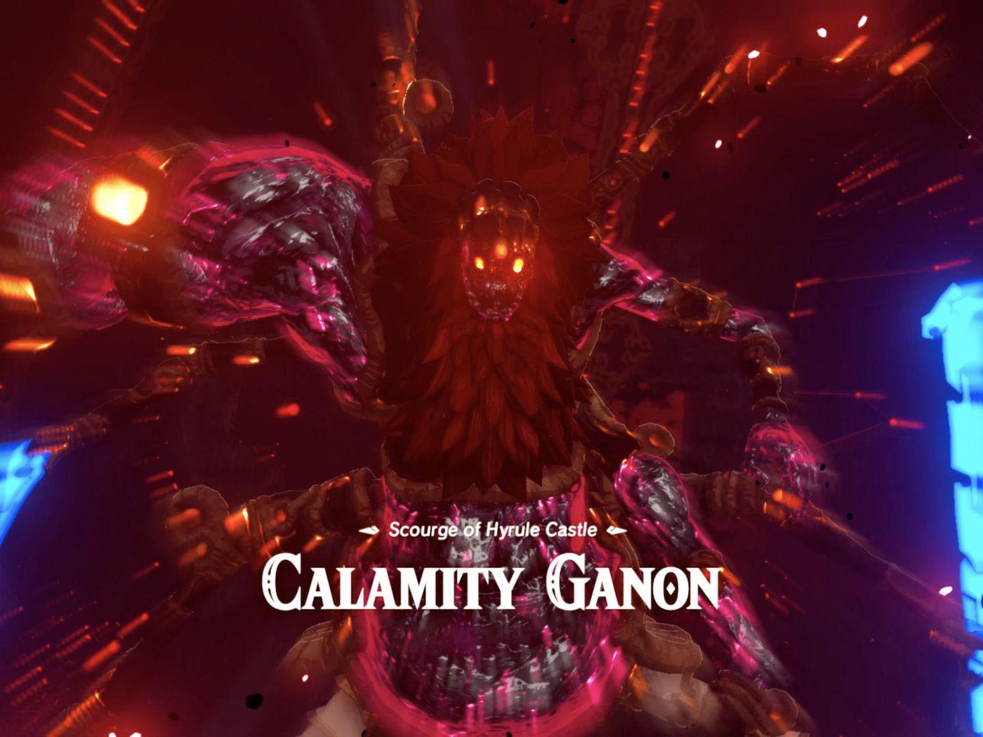 Calamity Ganon And Dark Beast Ganon Guide Polygon