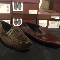 Mens slippers, $149