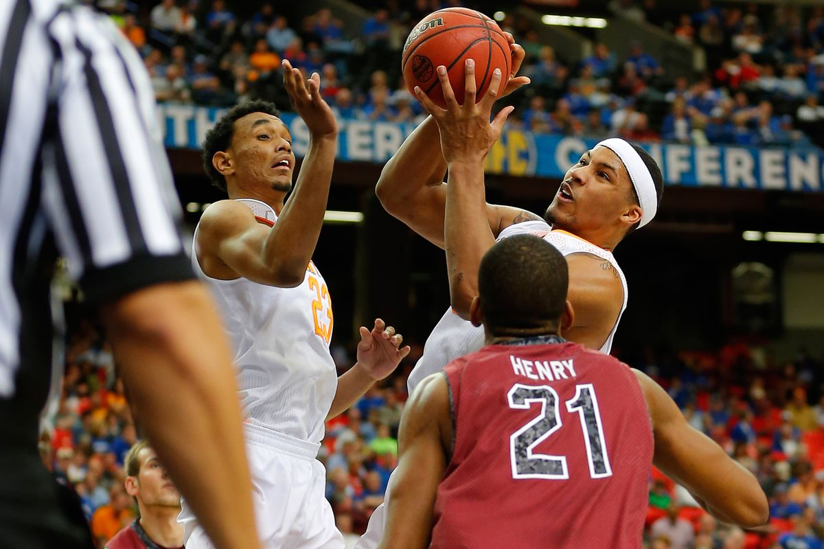 Jarnell Stokes could not be stopped on Friday afternoon.
