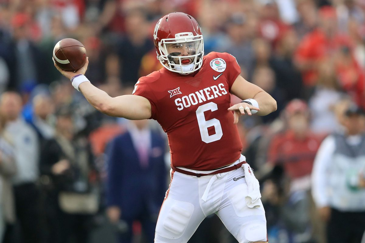 c126d84973a Browns 2018 draft results  QB Baker Mayfield becomes No. 1 overall ...