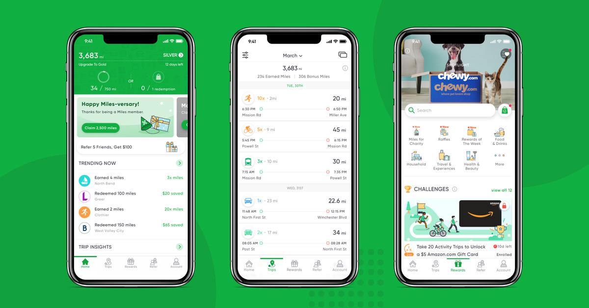 photo of Green travel rewards app Miles raises $12.5 million image