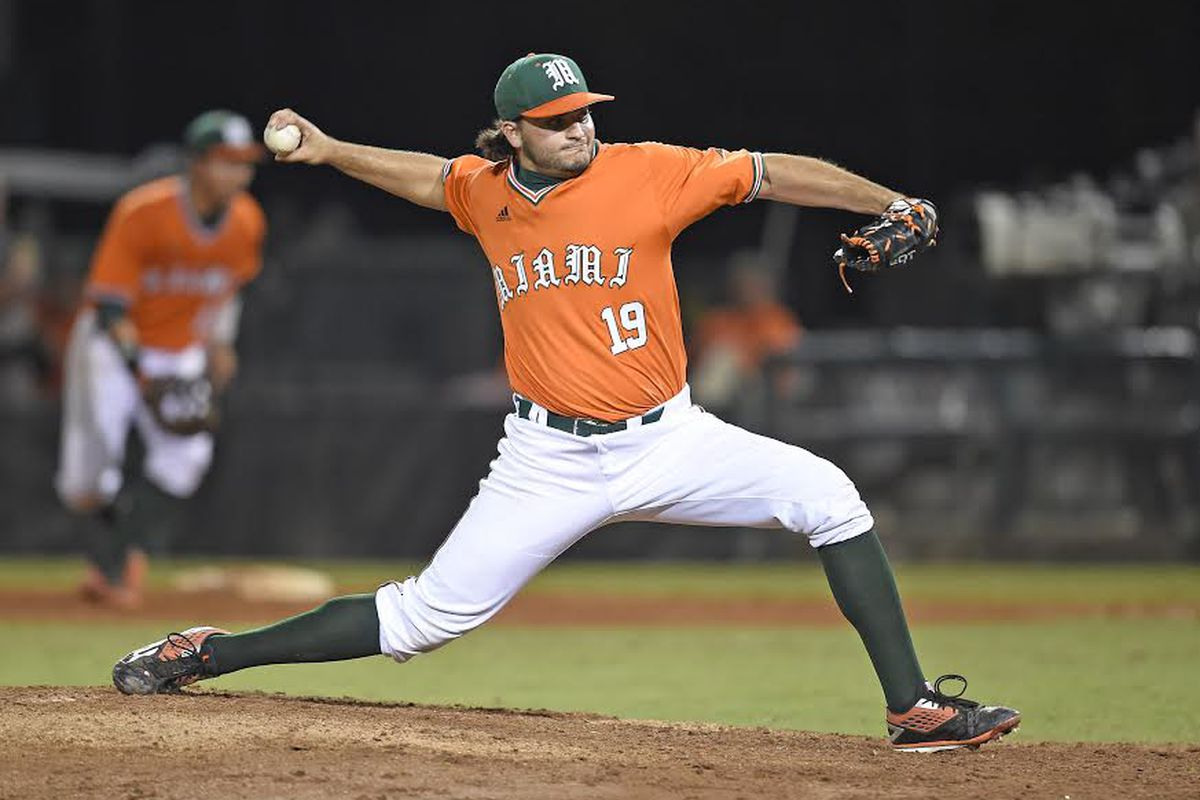 Closer Bryan Garcia leads the #3 National Seed Miami Hurricanes into Regionals
