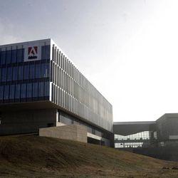The new Adobe Systems Inc. Utah home base in Lehi on Thursday, Dec. 6, 2012.