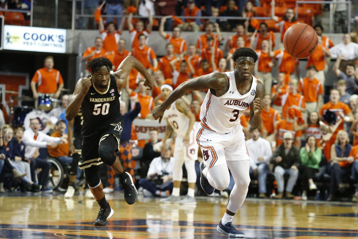 Advanced Box Score Recap Auburn Vs Vandy College And Magnolia