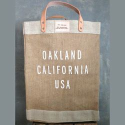 "<strong>Atomic Garden and Apolis</strong> Market Bag Collaboration, <a href=""http://atomicgardenoakland.com/collections/home/products/ag-apolis-market-bag-collaboration"">$64</a> at Atomic Garden"