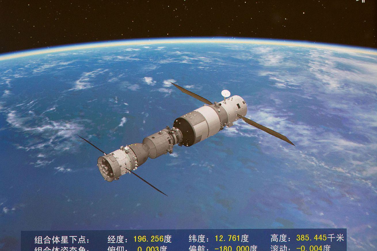 (SHENZHOU-11-TIANGONG-2) CHINA-SHENZHOU-11-TIANGONG-2-DOCKING (CN)