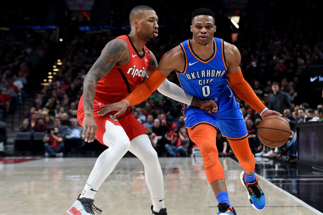 Flipboard: Oklahoma City Thunder vs. Portland Trail ...