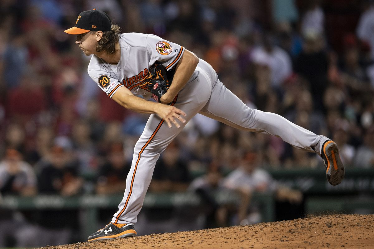 Hunter Harvey makes MLB debut in Orioles' 4-0 loss to the Red Sox