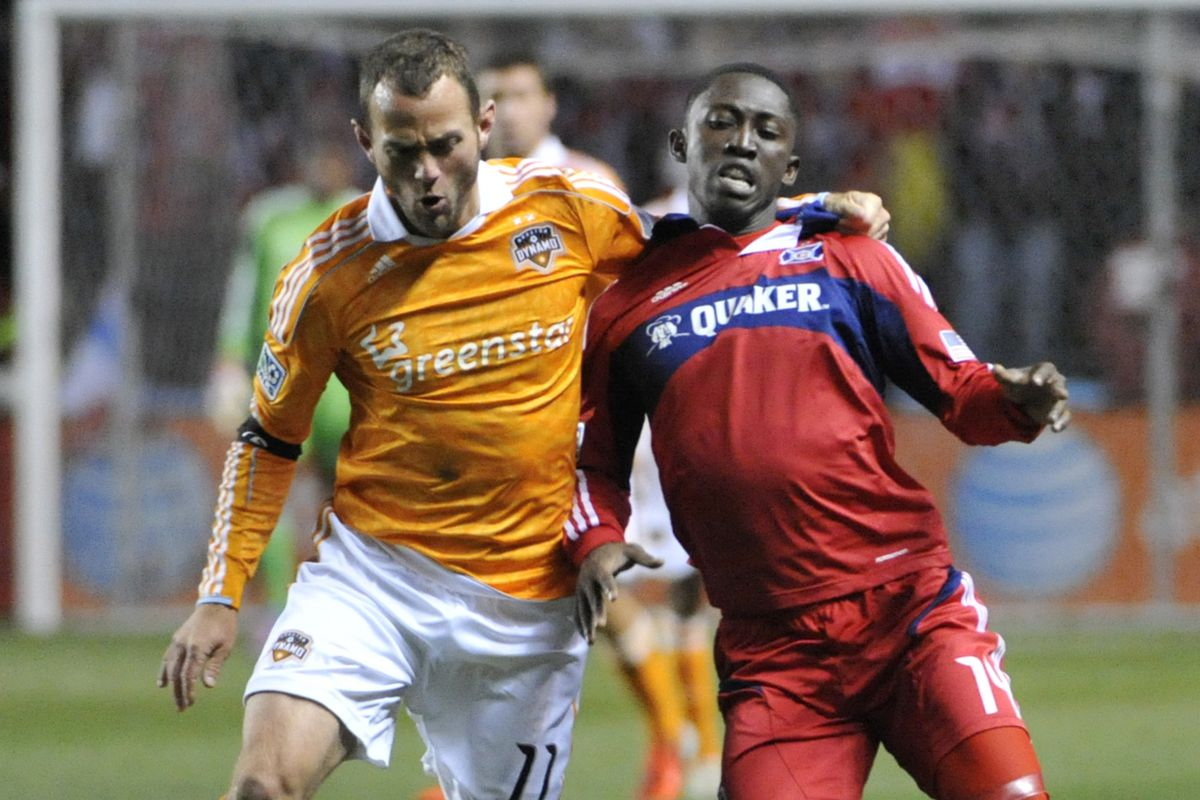 After facing off four times last year, the Houston Dynamo host the Chicago Fire on Sunday