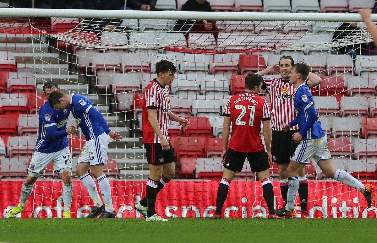 Sunderland v Ipswich Town - Sky Bet Championship