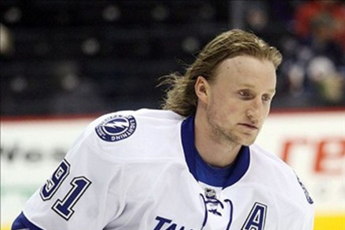 Steven Stamkos is one of the strengths of the 2013 Lightning team.