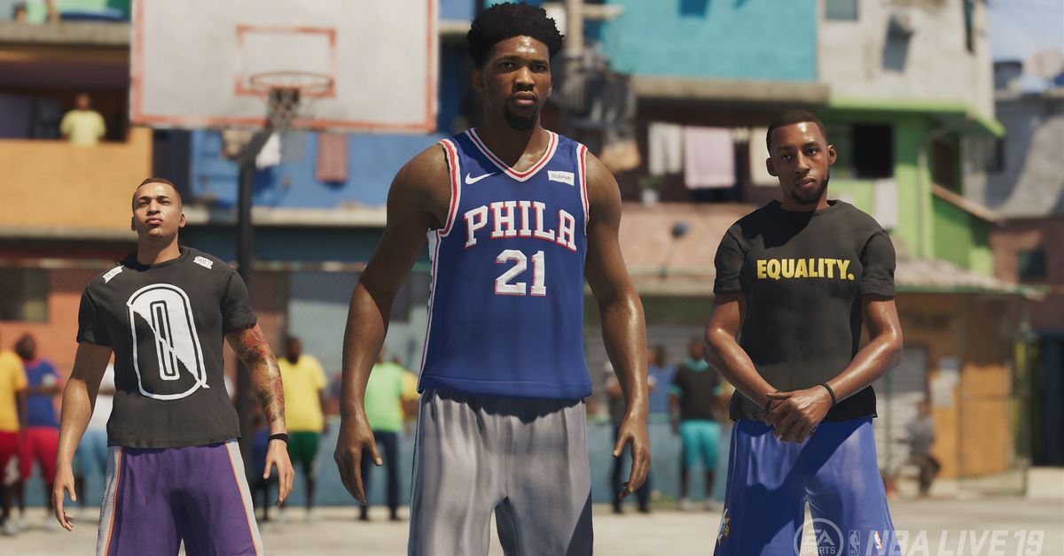 Why are we asking where the hell is NBA Live again?
