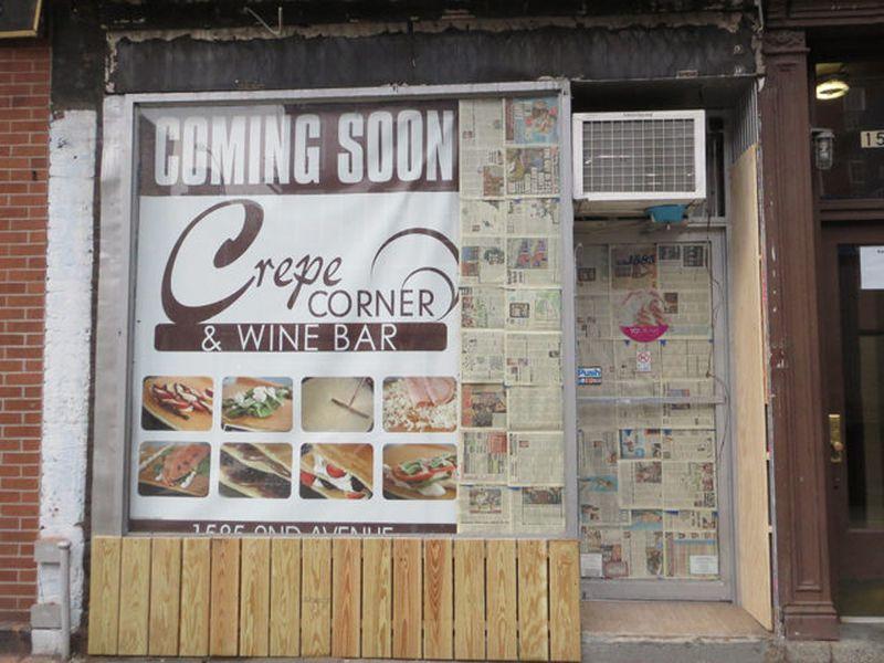 Corner Cafe And Froyo Menu