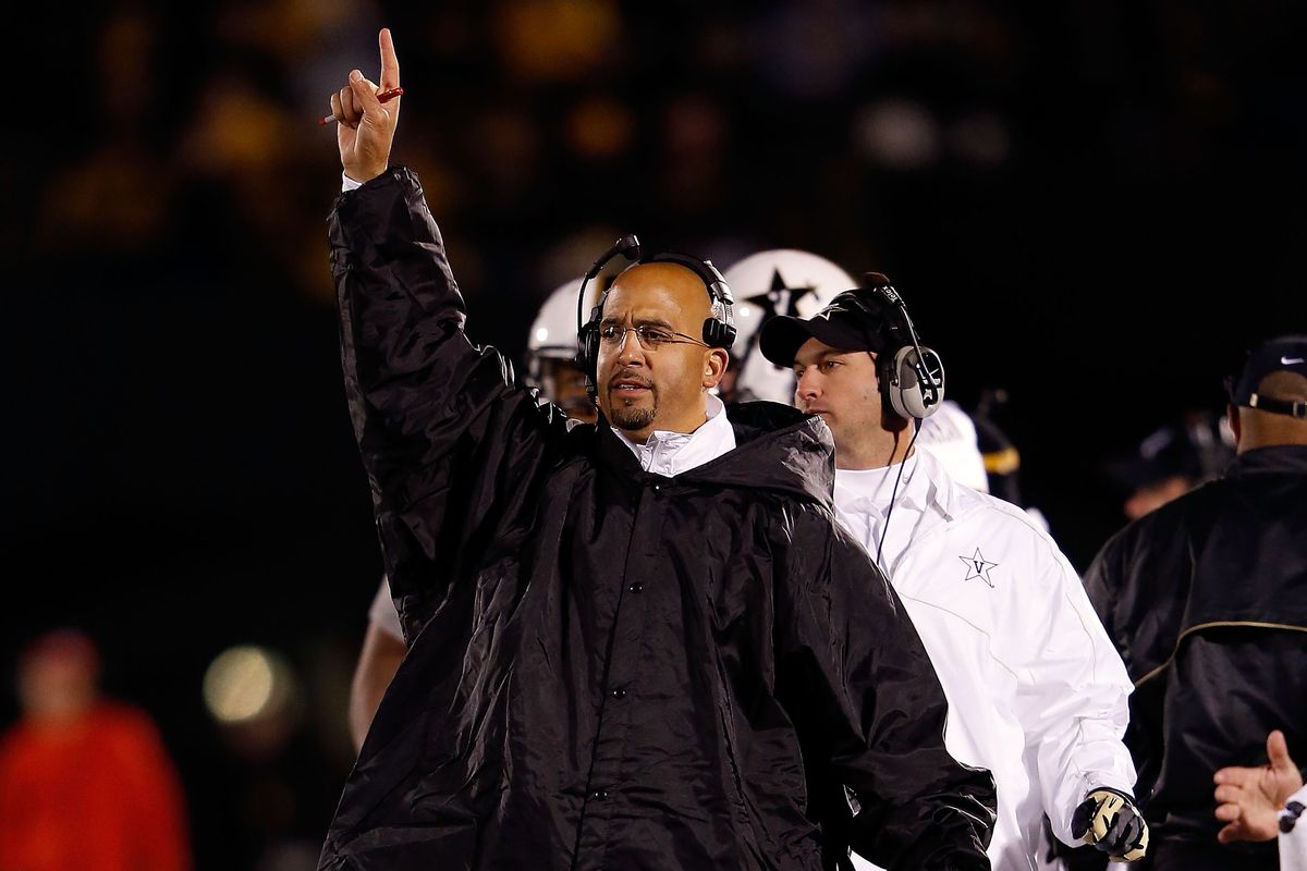 So THAT's what Coach Franklin was hiding under his coat...