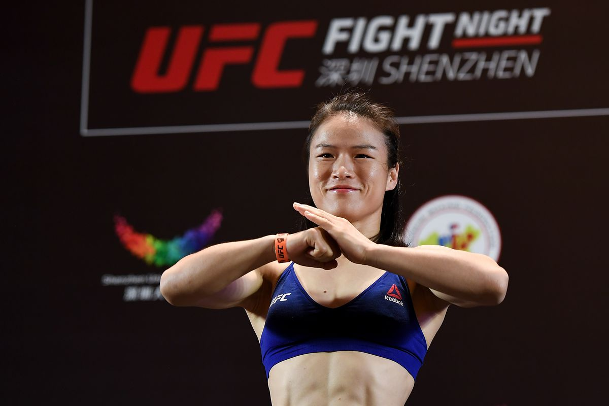 UFC Fight Night Andrade v Zhang: Weigh-Ins