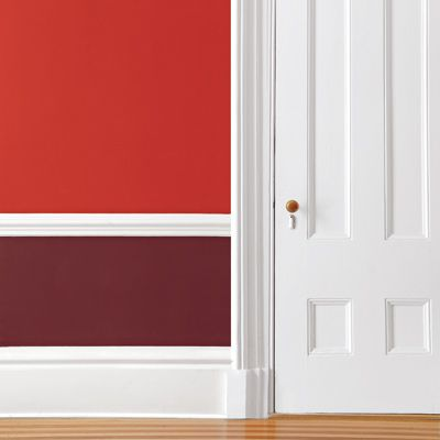 Four Paint Schemes For Two Tone Rooms This Old House