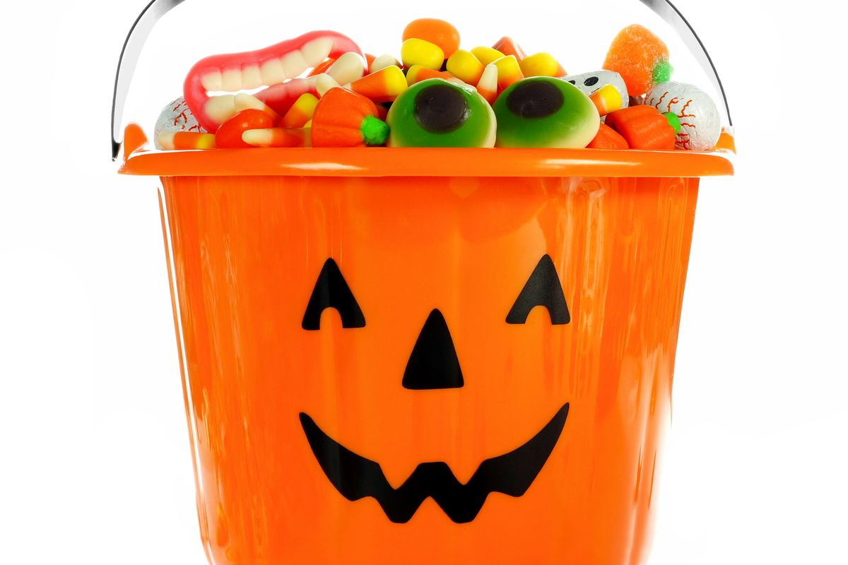 look around chances are there is halloween candy near you right now if the candy is not in your home your office or your school its in a bowl at the