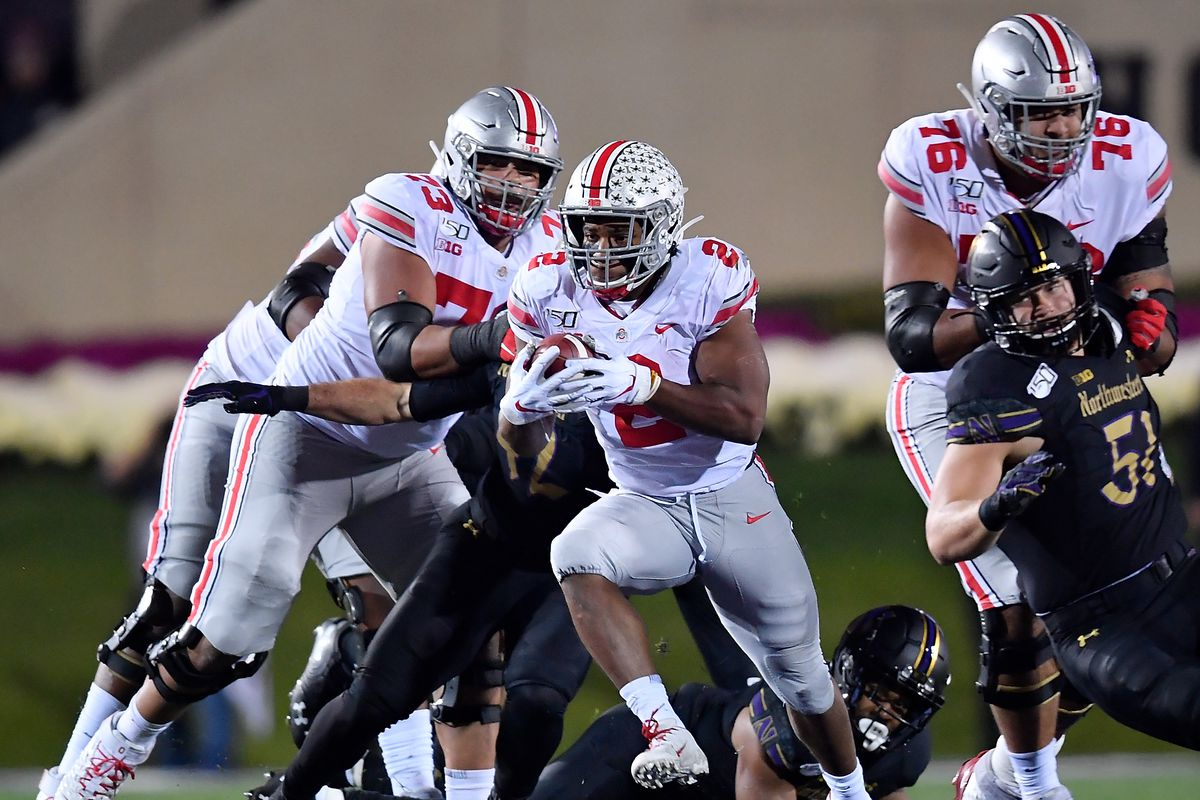 Ohio State-Northwestern: over before it started
