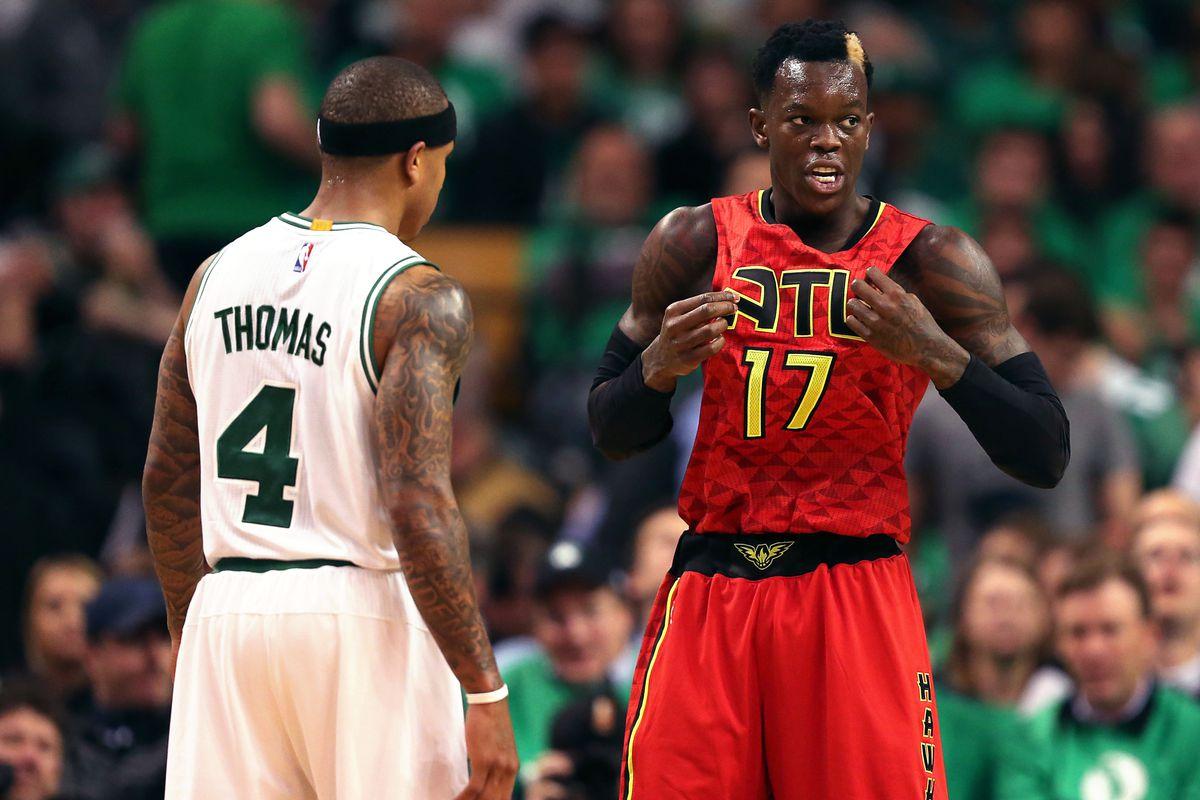 NBA: Playoffs-Atlanta Hawks at Boston Celtics